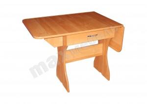 Кухонный стол раскладной с ящиком