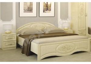 Спальня бежевый глянец