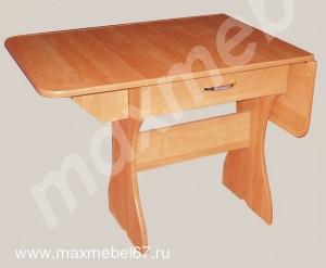 Кухонный стол раскладной с ящиками