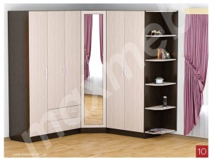Шкафы различной комплектации